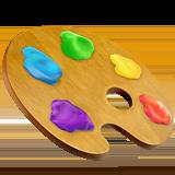 Apple art palette