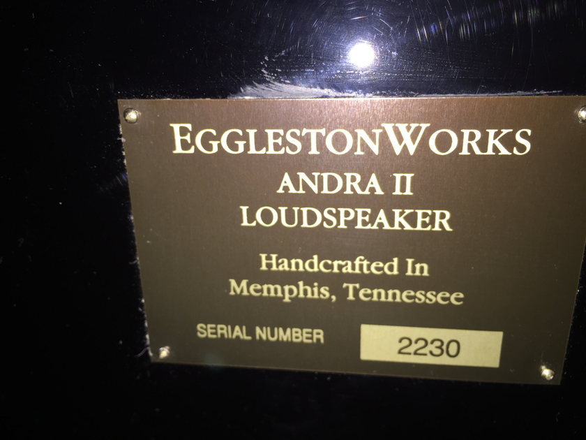 EgglestonWorks Andra II (Mint condition) local pickups only
