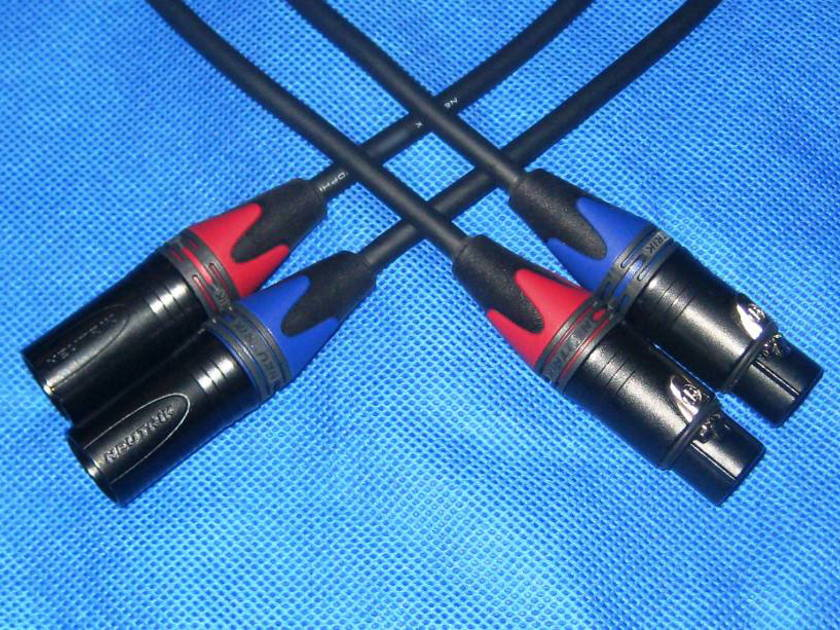 Mogami XLR 2 Meter Pair - Studio Standard Interconnects