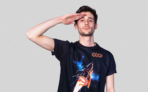 cool soviet t-shirts with prints