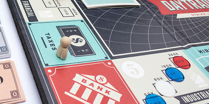 Day Trader: Financial Board Game | Dieline