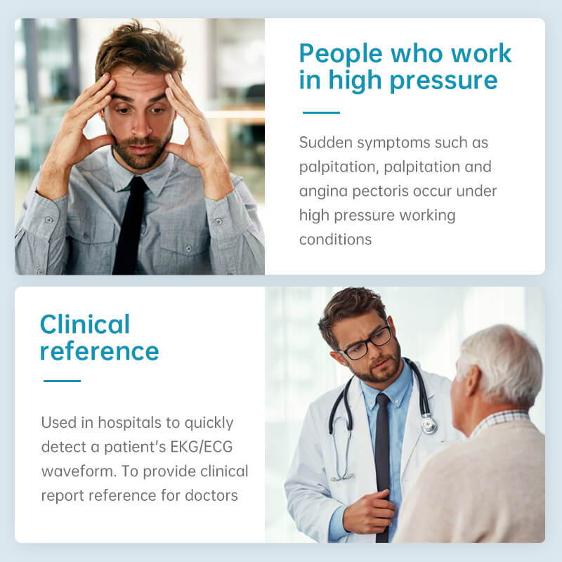 people who work in high pressure, for clinical reference
