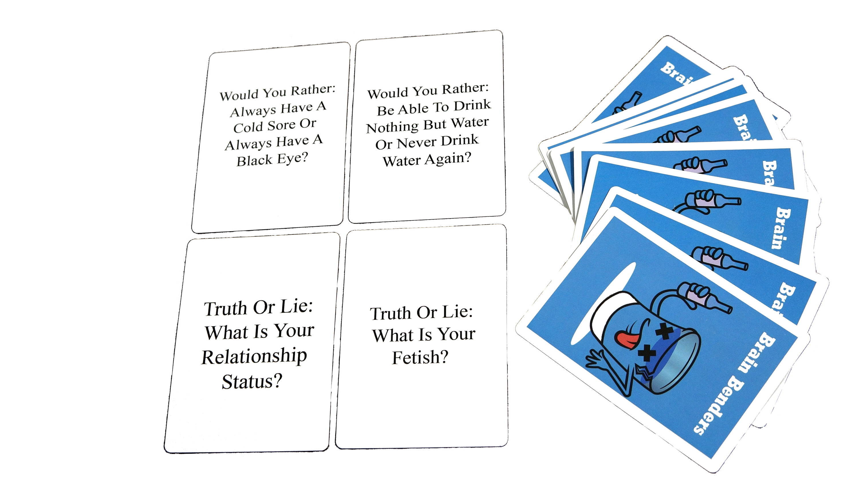 Brain Benders, Best Party Game, Truth Or Lie Card Game