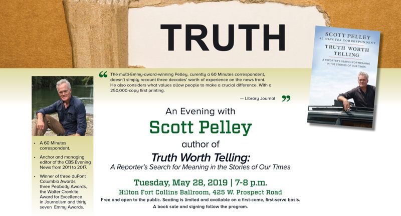 An Evening with Scott Pelley | May 28 | The New Scene