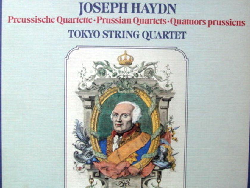 DG / Haydn Prussian String Quartets, - TOKYO QUARTET, MINT, 3LP Box Set!