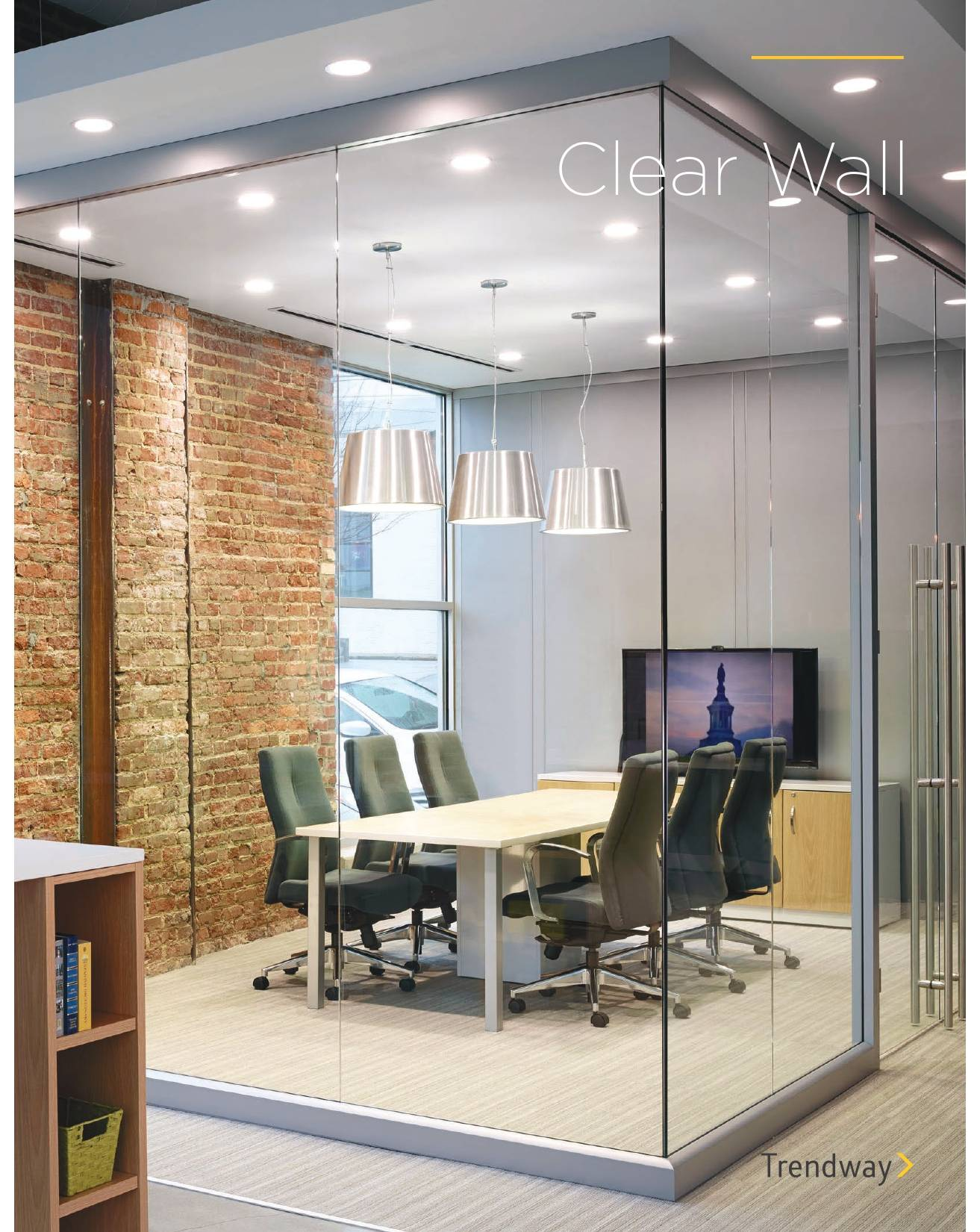 Trendway Furniture Clear Wall Architectural Walls Brochure