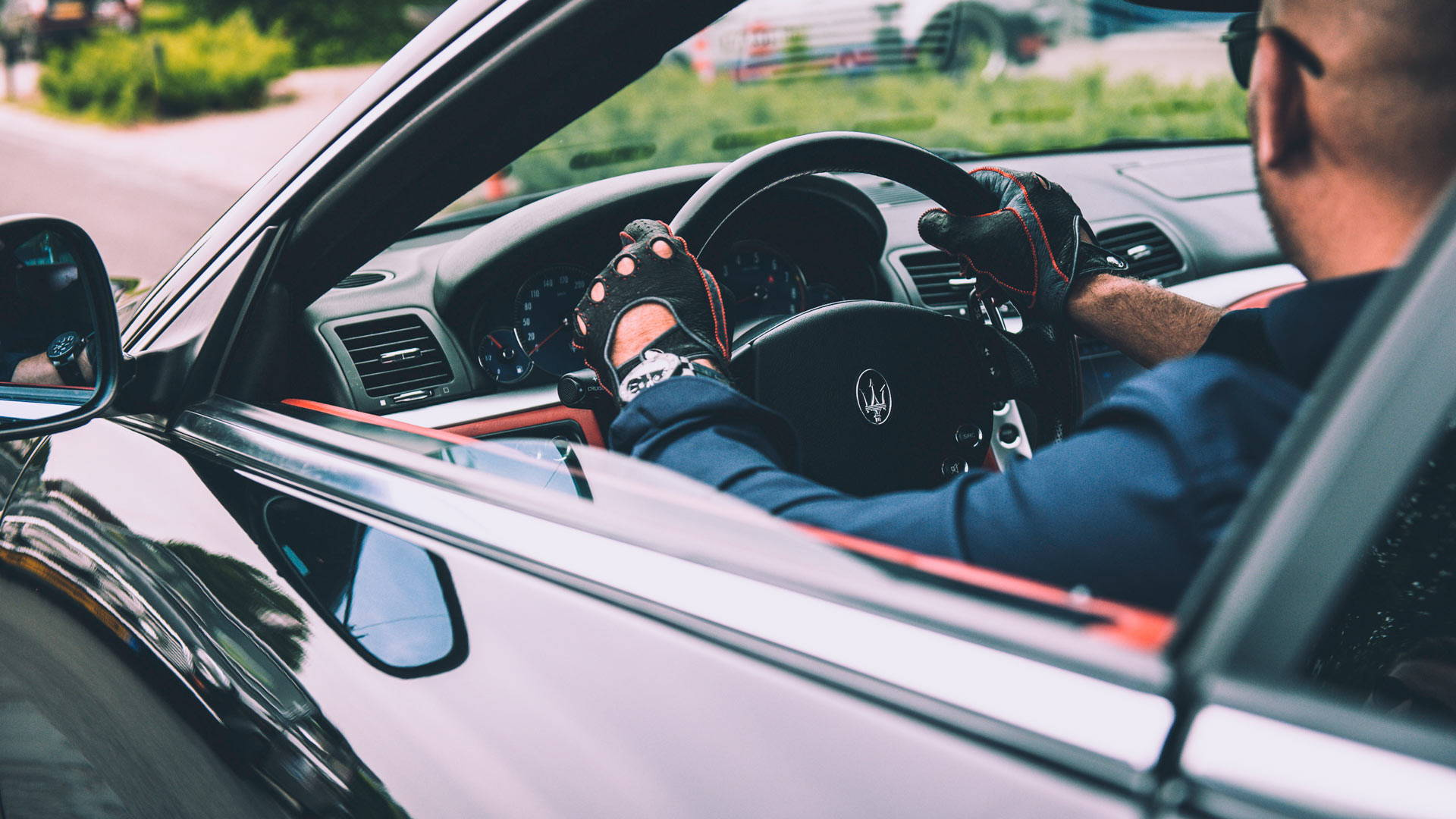 Driving gloves Maserati