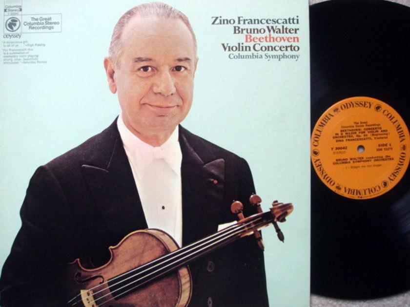 Columbia Odyssey / FRANCESCATTI-WALTER,  - Beethoven Violin Concerto, NM!