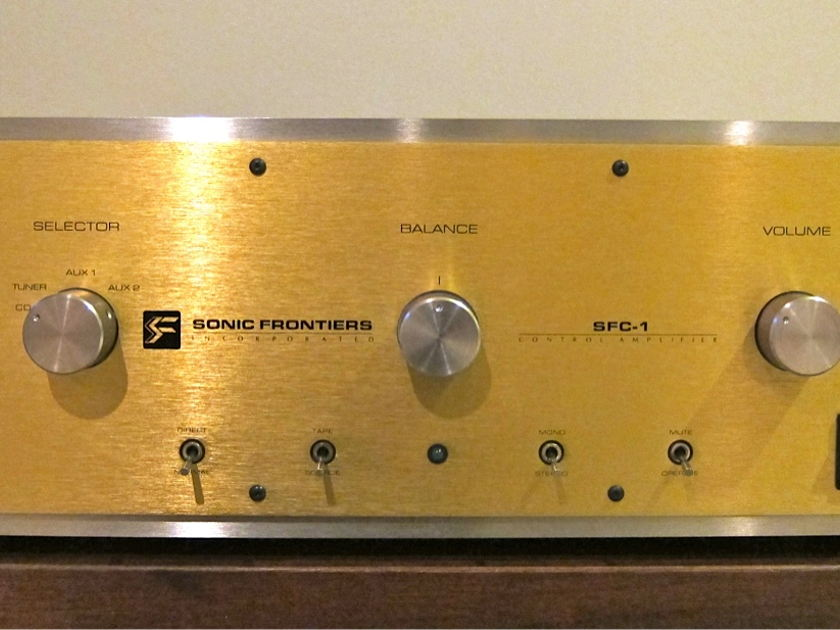 Sonic Frontiers SFC-1 Integrated tube amp/amplifier