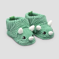 Just One You infant boy slippers