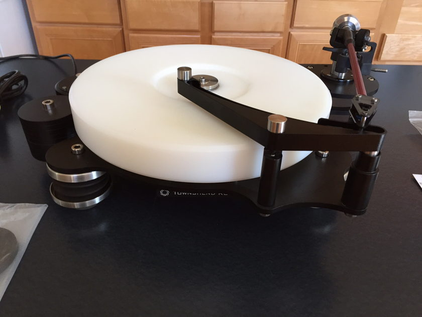 Townshend Audio Rock 7 Turntable  Complete with DC Motor Upgrade / Arm / Cartridge