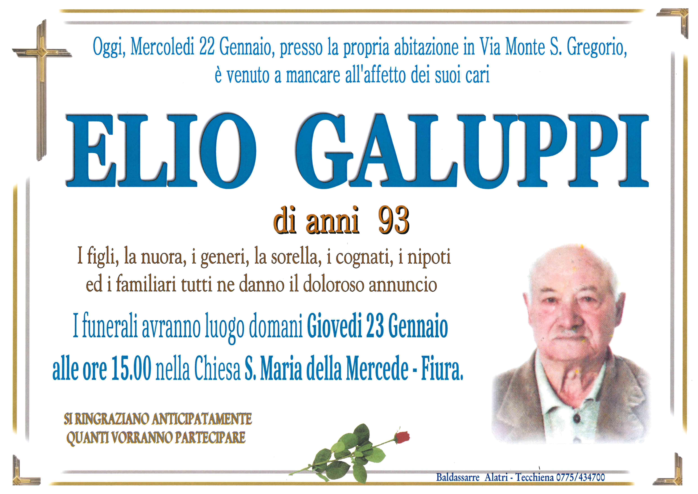 Elio Galuppi