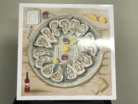"""Alex Beard """"The Oyster Platter"""" Print"""