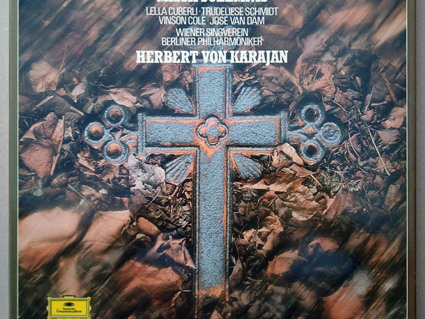 DG Digital   KARAJAN/BEETHOVEN - Missa Solemnis / 2-LP / NM