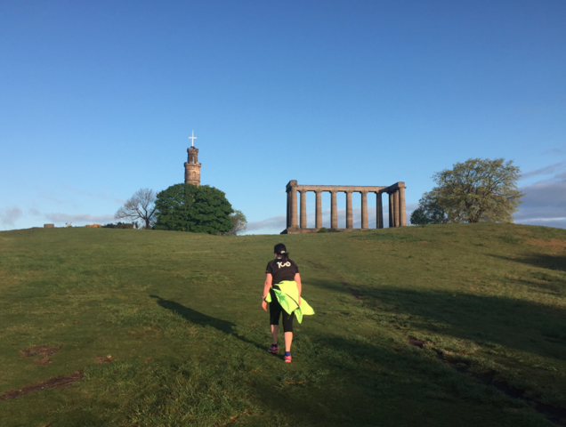 Auld Reekie (4 miles)  Running Tour with Lucja