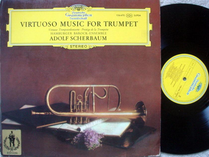 DGG / SCHERBAUM, - Virtuoso Music for Trumpet, NM!