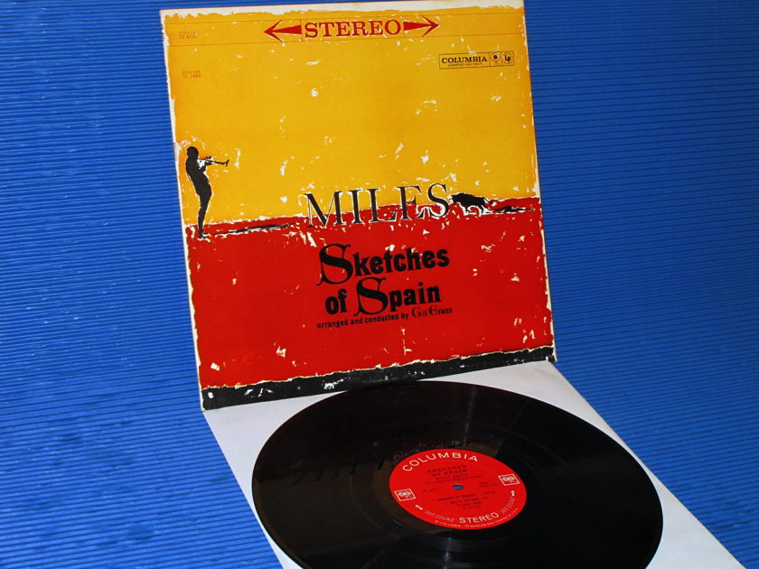 "MILES DAVIS -  - ""Sketches of Spain"" -  Columbia '2 Eye' 1963"