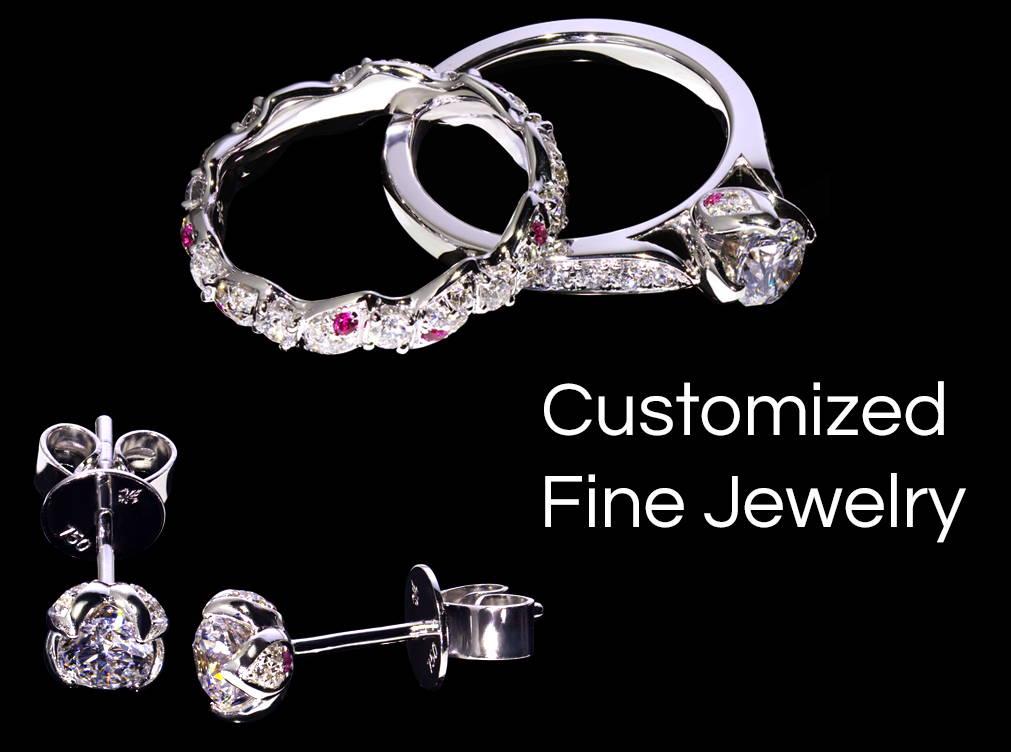 Yves Lemay fine custom jewelry banner