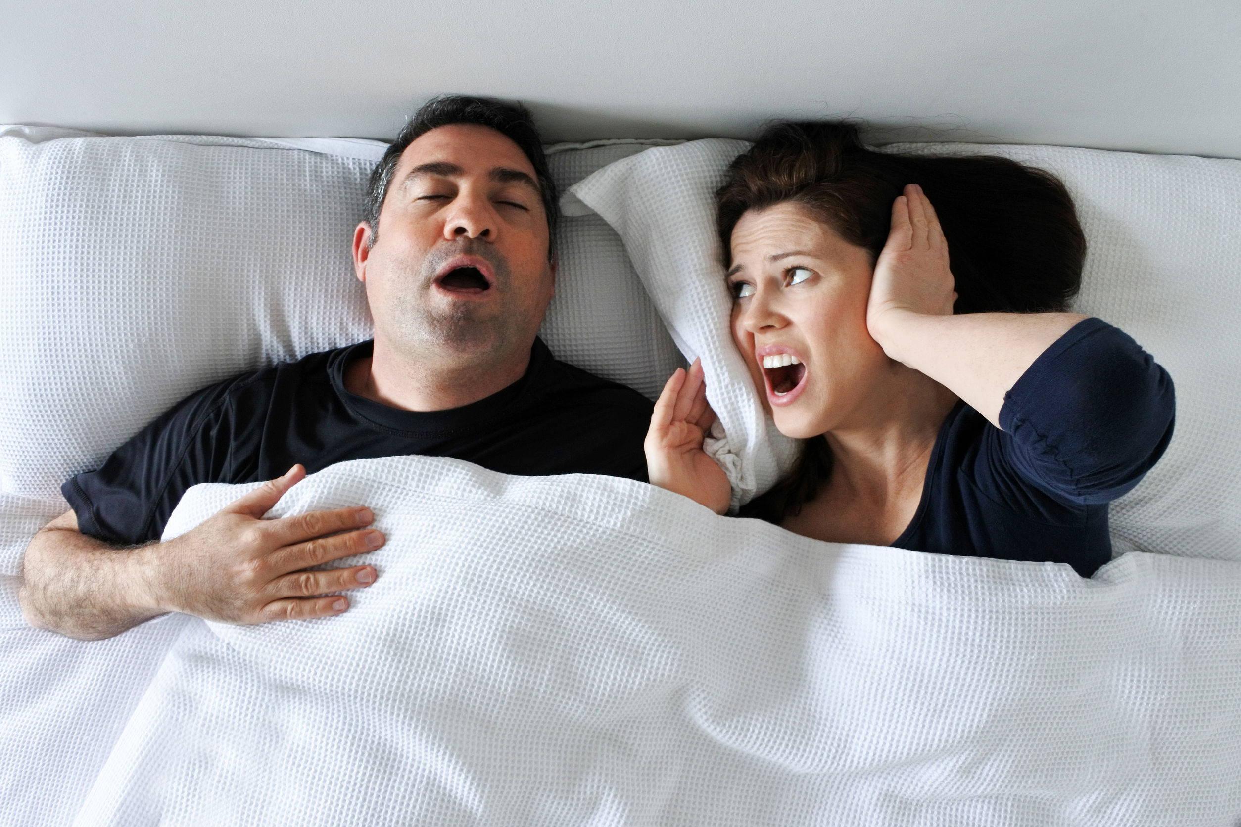 snoring bed partner