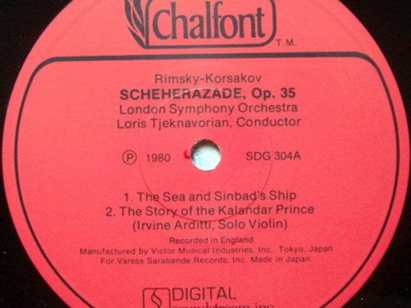 ★Audiophile★ Chalfont / TJEKNAVORIAN, - Rimsky-Korsakov Scheherazade, MINT!