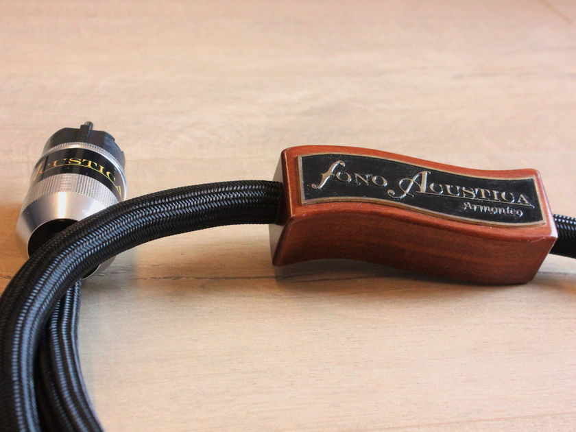 Fono Acustica Armonico  Power Cable 1.5 meters  (Class A Stereophile)