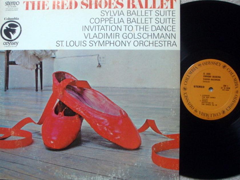 Columbia Odyssey / VLADIMIR GOLSCHMANN,  - The Red Shoes Ballet, NM!