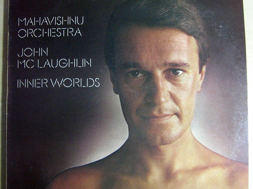 Mahavishnu Orchestra / John McLaughlin - Inner Worlds - Gold Stamped Promo Columbia ‎PC 33908
