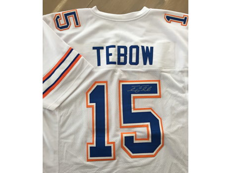 Tim Tebow Autographed Florida Football Jersey