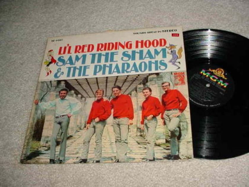 SAM THE SHAM AND THE PHARAOHS -   LP RECORD  LIL RED RIDING HOOD