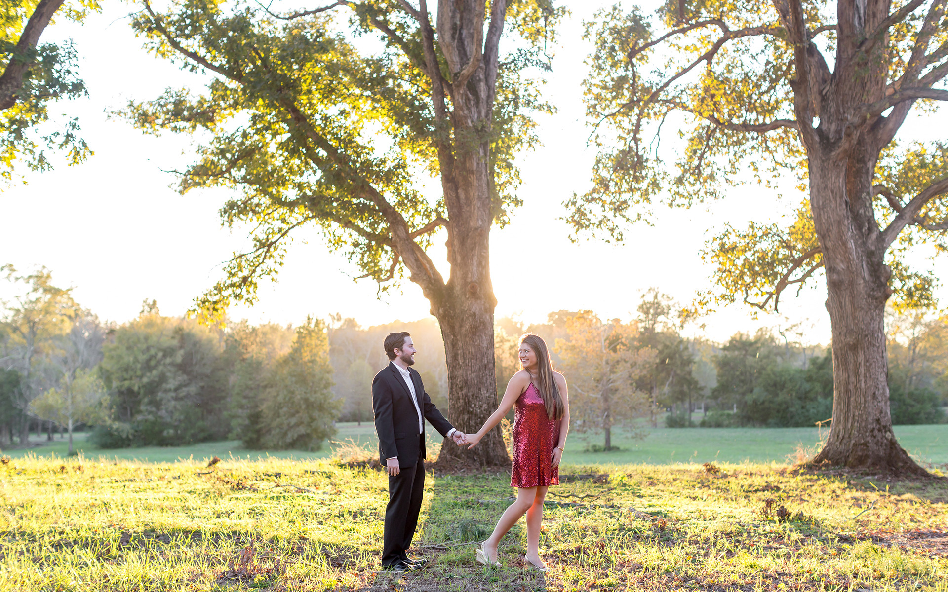 First a Christmas Proposal, Then a Christmas Engagement Shoot