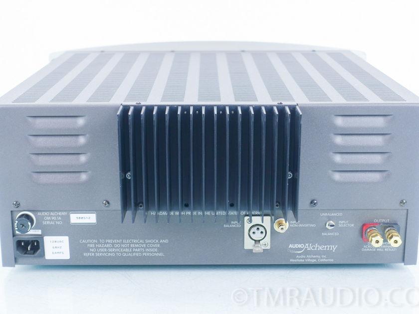 Audio Alchemy  OM 90.1A  Mono Power Amplifiers; Pair(9059)