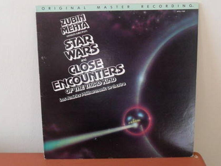 Mobile Fidelity 1/2 - SPEEd: star wars & close encount.; mehta; m -