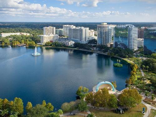 skyview of Orlando