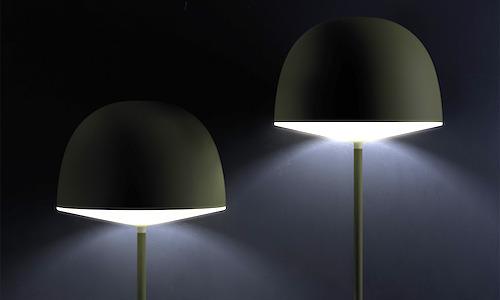 FontanaArte Cheshire Floor Lamp, featured in green