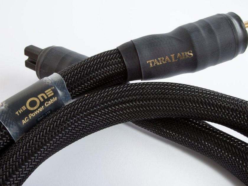 Tara Labs THE ONE AC Power Cord 6FT 1.8M New in Box Seattle Hi-Fi Spring Cleaning Sales Event