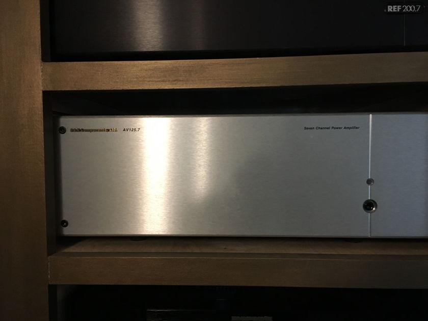 B&K Components AV125.7 7 Channel Power Amp