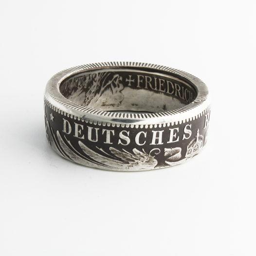 Кольцо из монеты - Германская Империя 2 марки