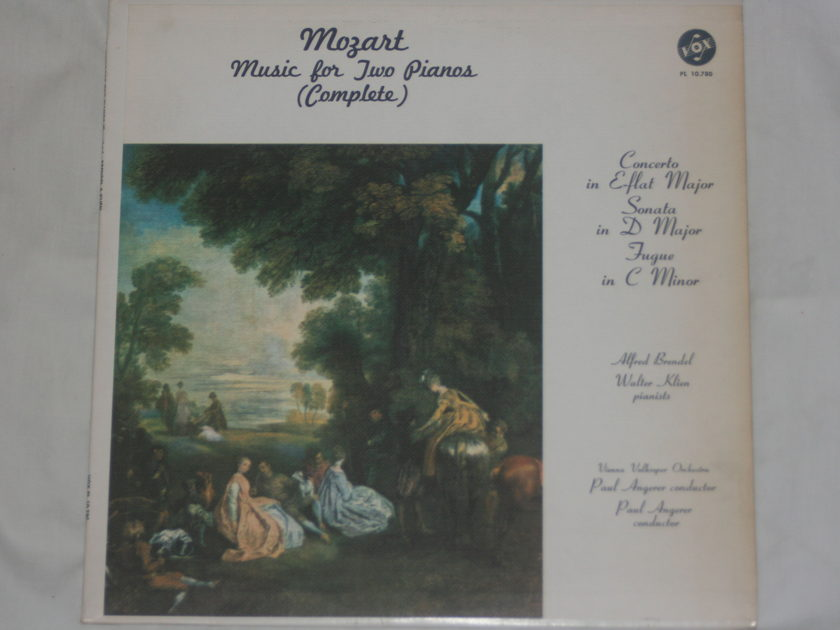 Vienna Volksoper Orchestra - Mozart: Music for Two Pianos PL 10.780