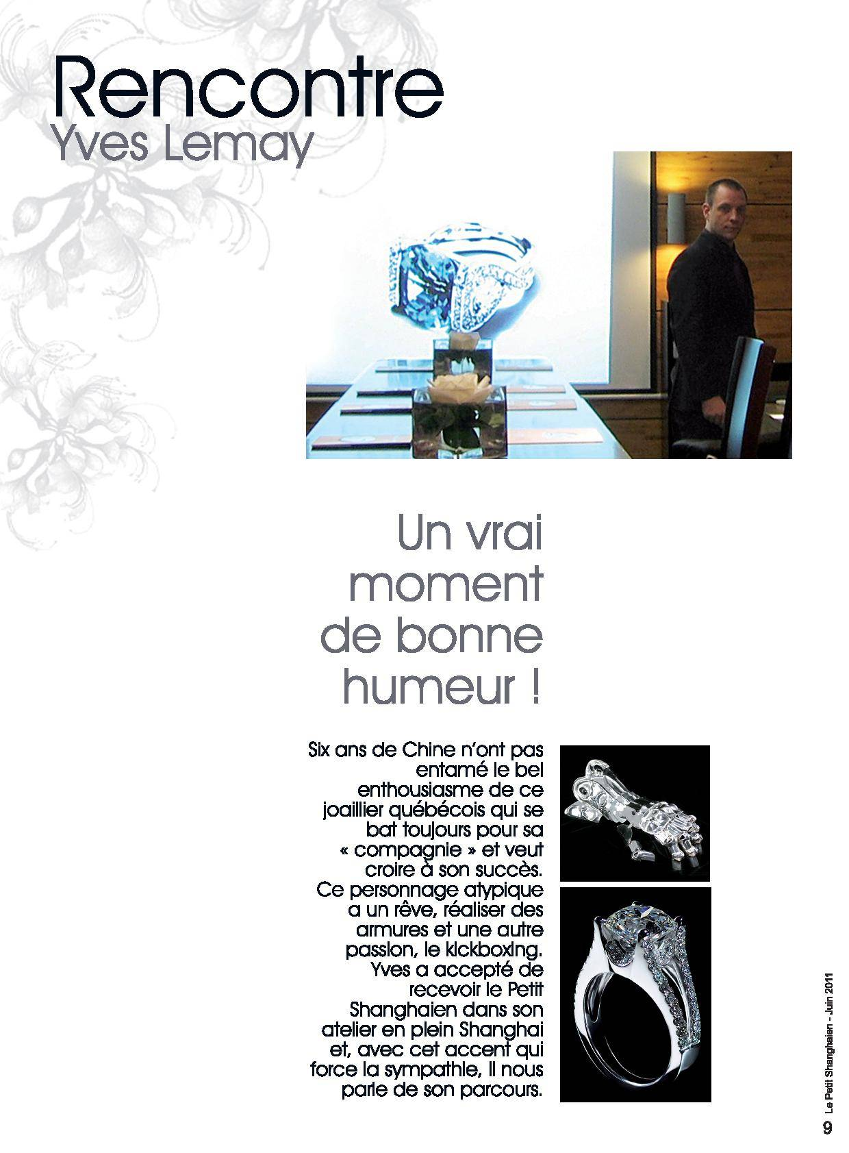 Yves Lemay Media Publication