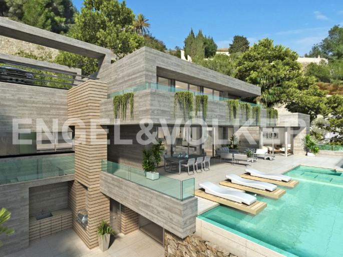 Project of Modern Luxury Villa in Racó de Galeno - Calpe