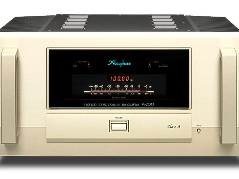 Accuphase A-200 100w Class A Power amplifier New
