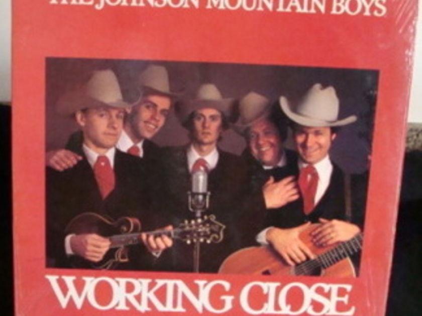 The Johnson Mountain Boys  -  Working Close  Near Mint