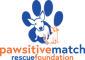 Pawsitive Match Rescue Foundation logo