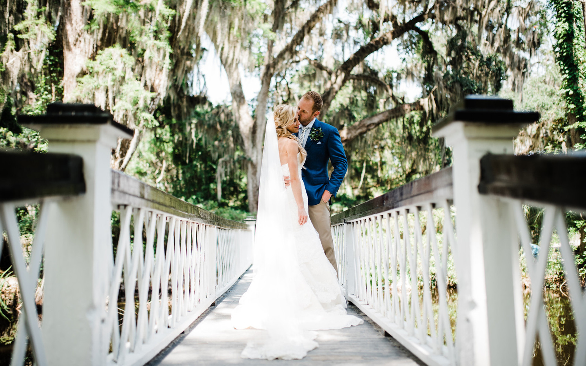 Gold, Glam and Greenery on a Historic Plantation