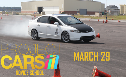 Project Cars Novice School at Cherry Point NCR