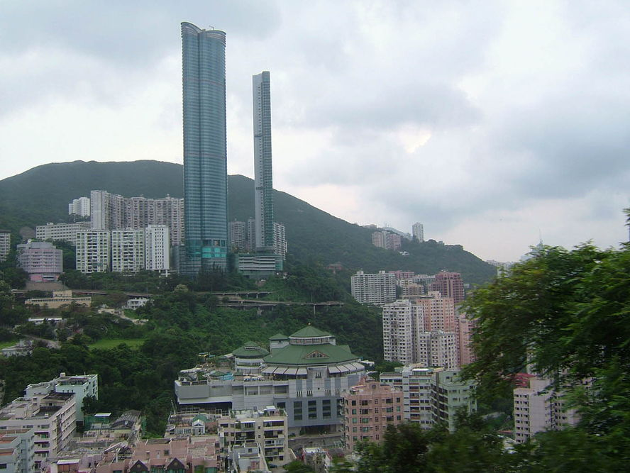 Hong Kong - high cliff property for sale