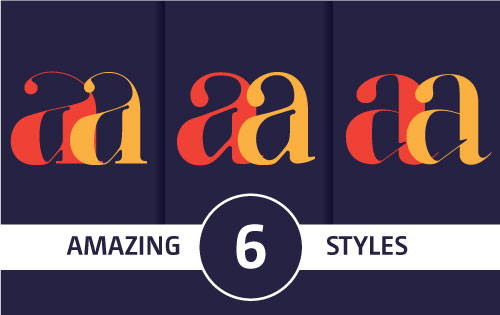 FASHION MAGAZINE FONTS BUNDLE