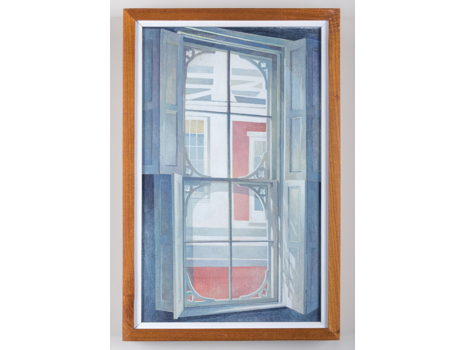Katharine Steele Renninger, Frenchtown Window, 1986