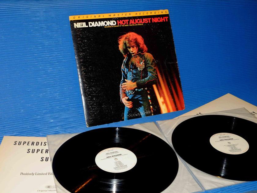 "NEIL DIAMOND  - ""Hot August Night"" -  Mobile Fidelity / MFSL 1979 2LP set"