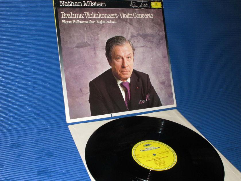 "BRAHMS/Milstein - - ""Violin Concerto D"" -  DGG 1983 German pressing"